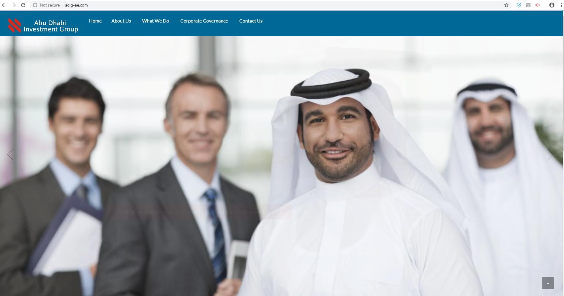 Adig-ae com: Fake company   Scamadviser