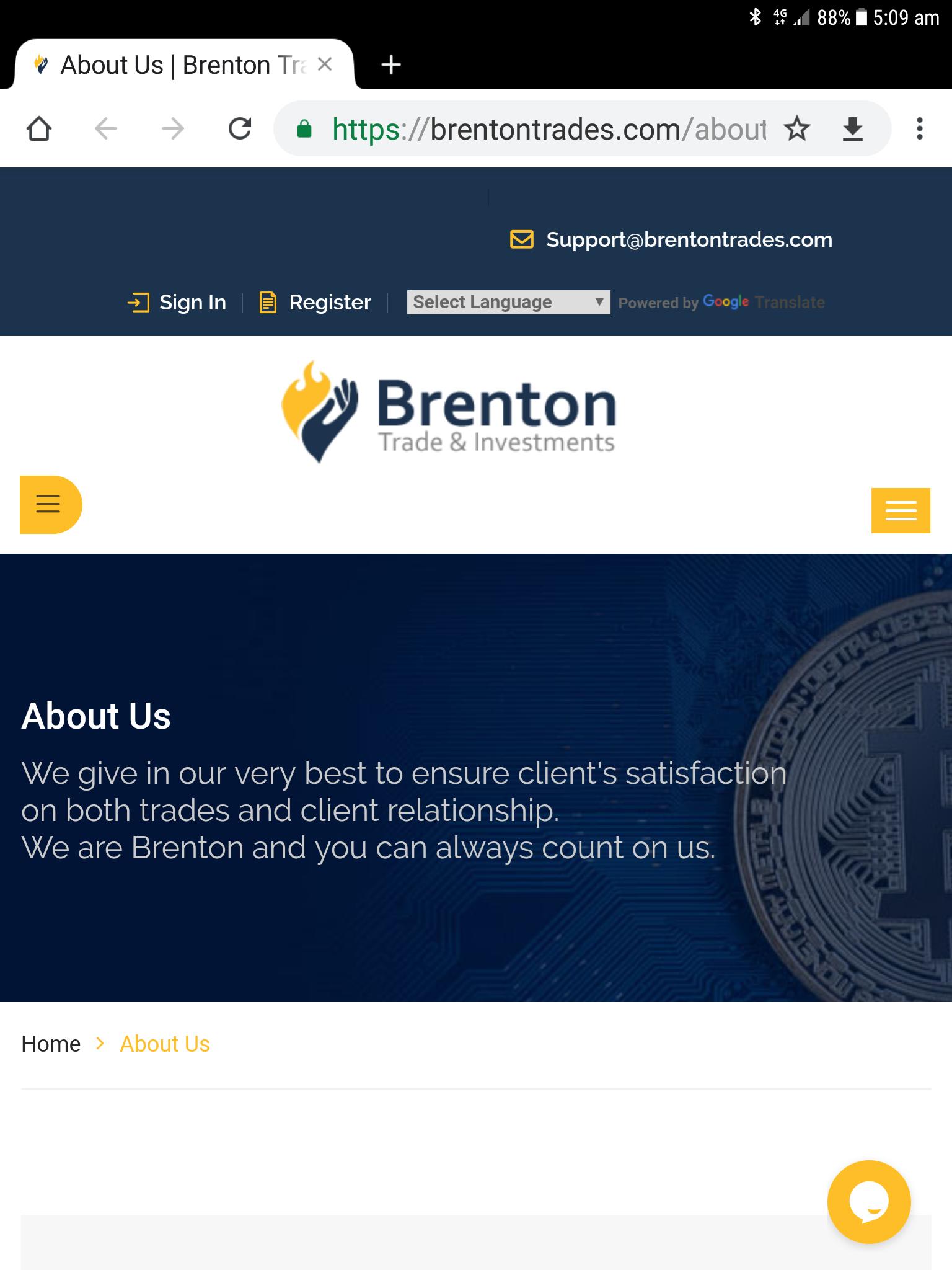 Brentontraders com - Scamadviser com | check a website for risk